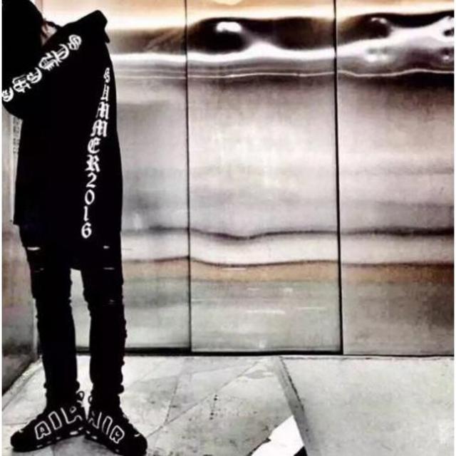 ブラック M G-DRAGON 三代目登坂着用タイプ ロングスリーブTシャツ メンズのトップス(Tシャツ/カットソー(七分/長袖))の商品写真
