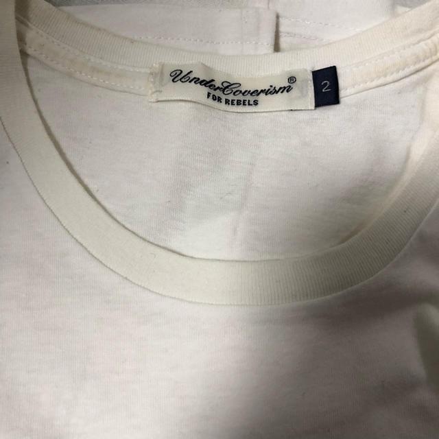 UNDERCOVER(アンダーカバー)のアンダーカバー undercover Tシャツ 白 2 メンズのトップス(Tシャツ/カットソー(半袖/袖なし))の商品写真