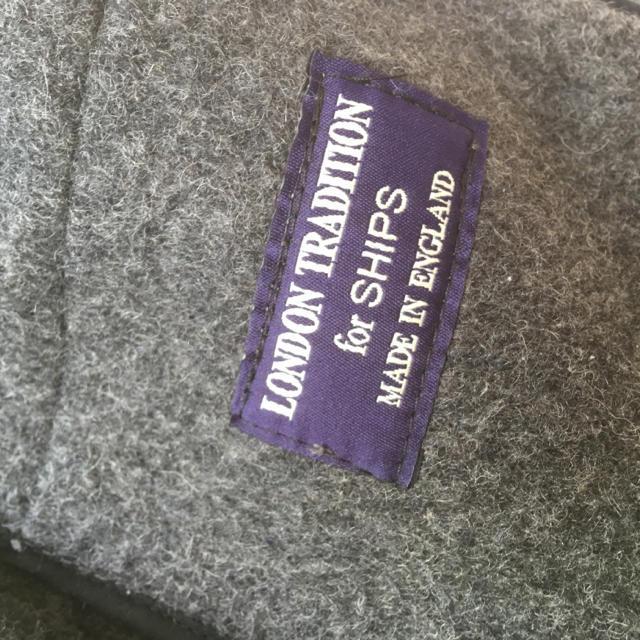 SHIPS(シップス)のロンドントラディショナル グレー コート メンズのジャケット/アウター(ダッフルコート)の商品写真