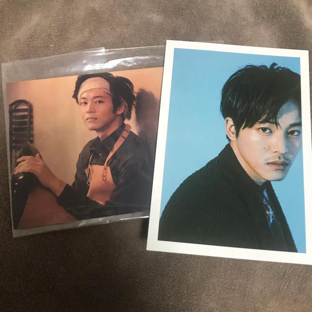 松坂桃李 ポストカード2枚セット エンタメ/ホビーのタレントグッズ(男性タレント)の商品写真