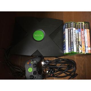 エックスボックス(Xbox)の動作品 Xbox ソフトセット(家庭用ゲーム本体)