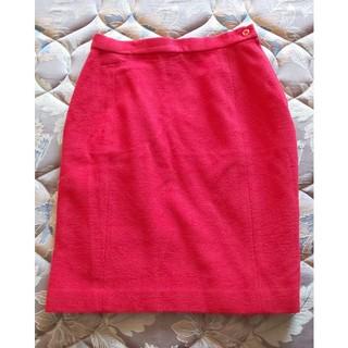 スキャパ(SCAPA)のスキャパ 赤いスカート(ひざ丈スカート)