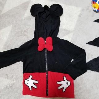 ディズニー(Disney)のミッキーパーカー 80㎝(その他)