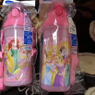 ディズニー(Disney)の(新品未使用)双子 ディズニープリンセス 水筒(水筒)