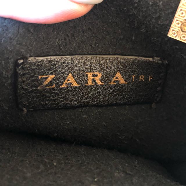 ZARA(ザラ)のZARA バッグ (ブラック・ゴールド) レディースのバッグ(ショルダーバッグ)の商品写真