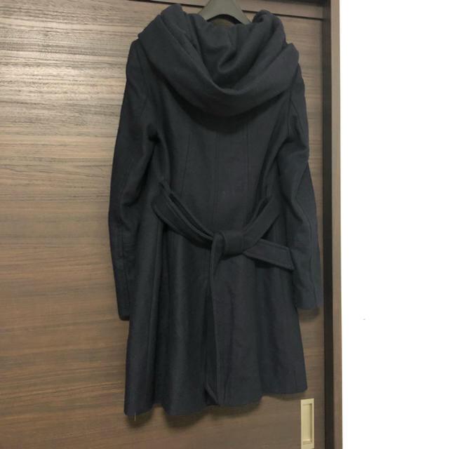 ZARA(ザラ)のザラ フード コート レディースのジャケット/アウター(ロングコート)の商品写真