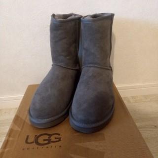 アグ(UGG)の専用【新品未使用】UGG アグ クラシックショート グレーUS9(26cm)(ブーツ)