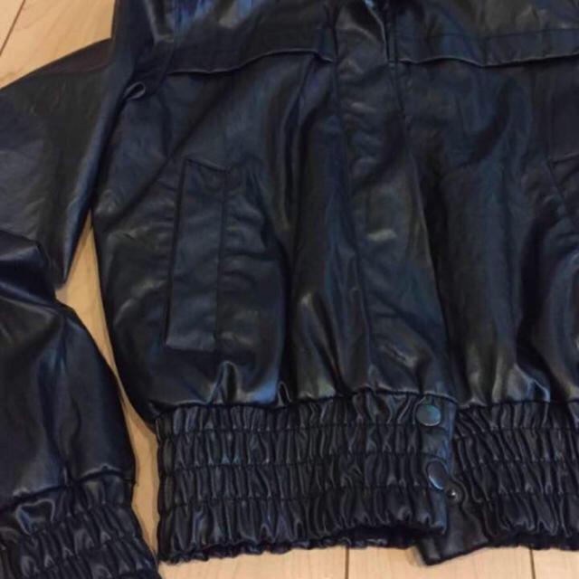 ZARA(ザラ)のzara ★ Sサイズ ライダース 黒色 レディースのジャケット/アウター(ライダースジャケット)の商品写真
