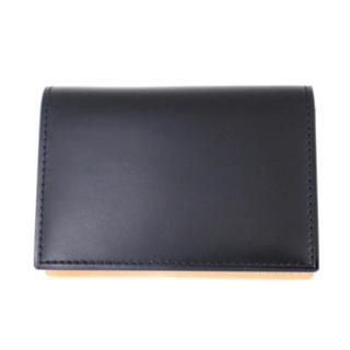 ガンゾ(GANZO)のGANZO ガンゾ カードケース ブラック 日本製 無くなり次第終了 残り1点(名刺入れ/定期入れ)