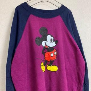 ディズニー(Disney)のPurple Disney sweatshirt(ニット/セーター)