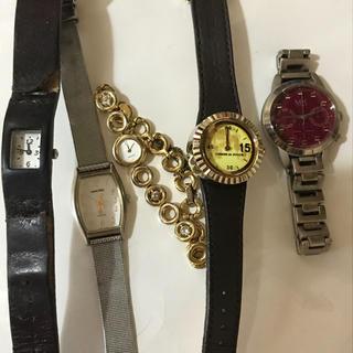 カバンドズッカ(CABANE de ZUCCa)のレディース  ジャンク 5点まとめ売り(腕時計)