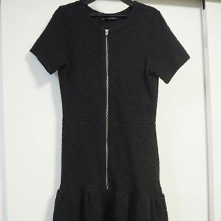 ザクープルズ(The Kooples)のthe koopkes デザイナーリトルブラックドレス サイズ36(ミディアムドレス)
