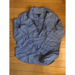マンゴ(MANGO)のMANGOのギンガムチェックシャツ(シャツ/ブラウス(長袖/七分))