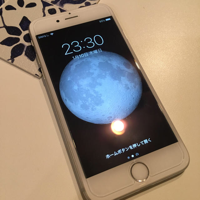 iPhone(アイフォーン)のバiPhone6 64gb シルバー ソフトバンク  スマホ/家電/カメラのスマートフォン/携帯電話(スマートフォン本体)の商品写真