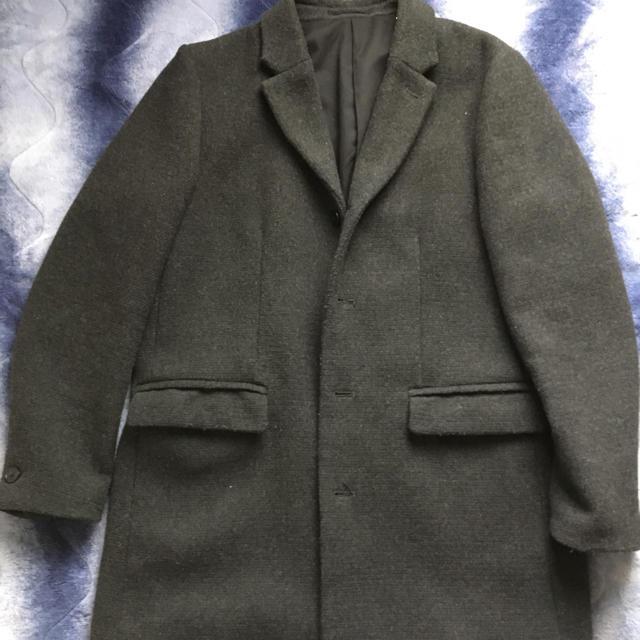 GU(ジーユー)のハーフチェスターコート メンズのジャケット/アウター(チェスターコート)の商品写真