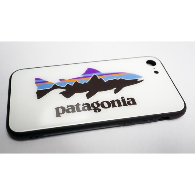 patagonia(パタゴニア)のパタゴニアiPhoneケース6/7/8/8P/X/XS/Max/XR用Fish スマホ/家電/カメラのスマホアクセサリー(iPhoneケース)の商品写真