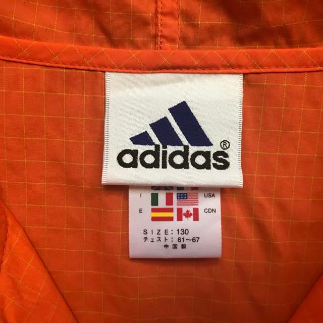 adidas(アディダス)のお買い得♪軽くて便利♪◆adidas◆ナイロンベスト キッズ 130サイズ キッズ/ベビー/マタニティのキッズ服 男の子用(90cm~)(ジャケット/上着)の商品写真