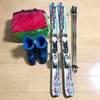 ディナスター(DYNASTAR)の子供 スキー4点セット ディナスター  キッズ  男の子  スキーセット(板)