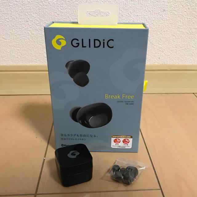 iphone 7 人気 ケース | Softbank - 完全ワイヤレスイヤホン GLIDiCの通販 by black's shop|ソフトバンクならラクマ