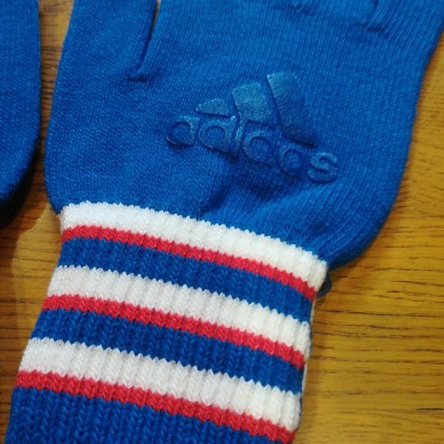 adidas(アディダス)のadidasメンズ手袋♪ メンズのファッション小物(手袋)の商品写真