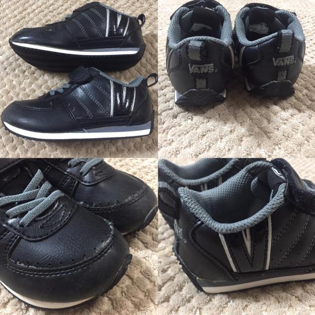 バンズ vans 17cm  キッズ/ベビー/マタニティのキッズ靴/シューズ (15cm~)(スニーカー)の商品写真