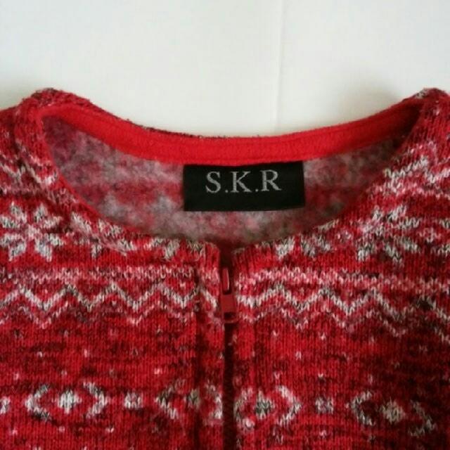【130】  S K R キッズ/ベビー/マタニティのキッズ服 女の子用(90cm~)(ジャケット/上着)の商品写真