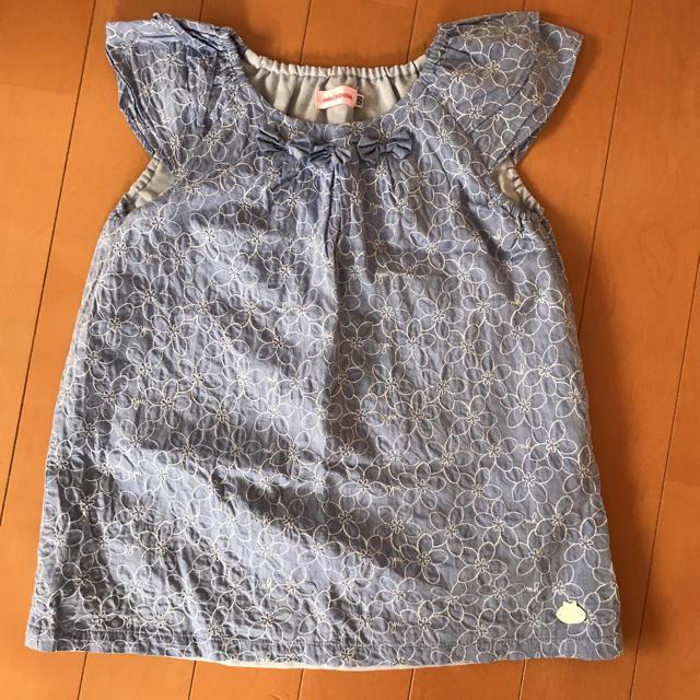 mikihouse(ミキハウス)のミキハウスチュニック120センチ キッズ/ベビー/マタニティのキッズ服 女の子用(90cm~)(ワンピース)の商品写真