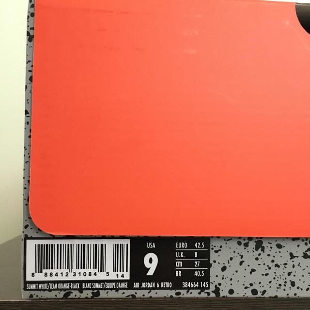 NIKE(ナイキ)のNIKEAIR JORDAN 6RETRO GATORADE メンズの靴/シューズ(スニーカー)の商品写真