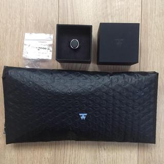 マルタンマルジェラ(Maison Martin Margiela)の箱付き TOMWOOD ブラック オニキス リング シルバー 925 サイズ52(リング(指輪))