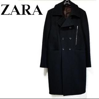 ザラ(ZARA)のZARA ロング P コート(ピーコート)