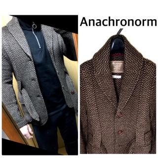 アナクロノーム(anachronorm)のAnachronorm ウールジャケット コート アルパカ アナクロノーム(テーラードジャケット)