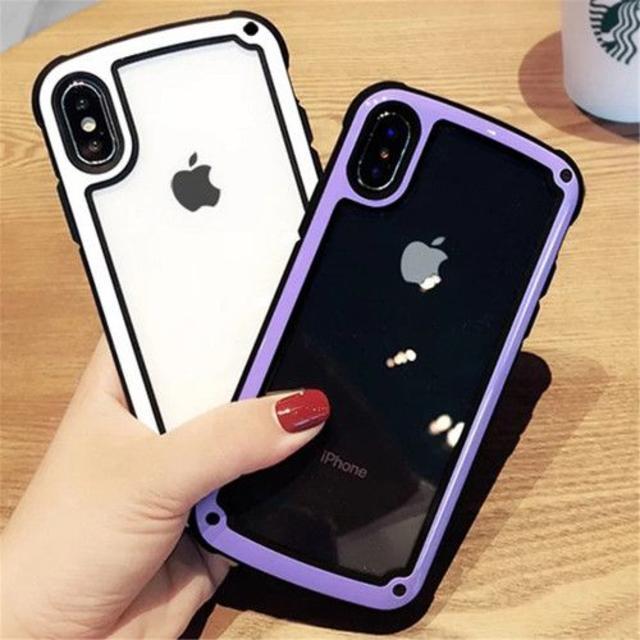 【ホワイト iphone7/8】iphoneケース  スマホ/家電/カメラのスマホアクセサリー(iPhoneケース)の商品写真