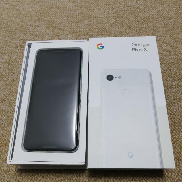 pixel3 64GB ドコモ新規購入 白 SIMロック解除済み 新品未使用 スマホ/家電/カメラのスマートフォン/携帯電話(スマートフォン本体)の商品写真