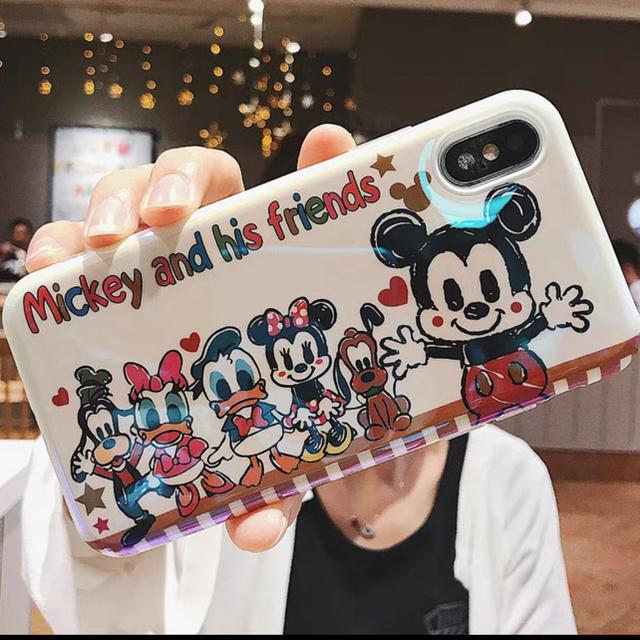 ミッキーミニー ディズニー スマホケース スマホ/家電/カメラのスマホアクセサリー(iPhoneケース)の商品写真