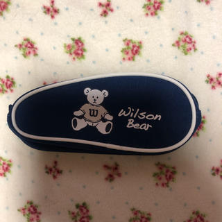 ウィルソン(wilson)の🐻💕 新品 ウィルソン  ベア クマ ポーチ テニス ゴルフ 🐻💕(ポーチ)