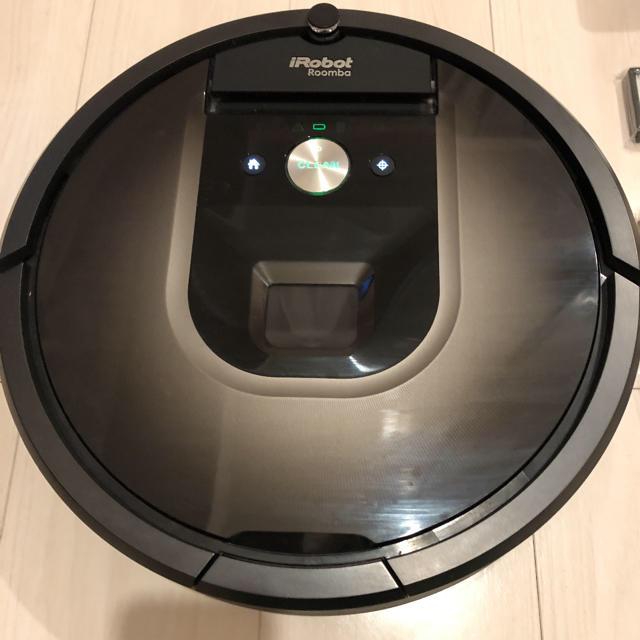 iRobot(アイロボット)の【3年保証あり】アイロボット 自動掃除機 ルンバ 980 付属品3セットあり スマホ/家電/カメラの生活家電(掃除機)の商品写真