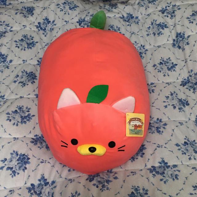 ドウシシャ(ドウシシャ)のごろねこ サミット りんご ドリームサミット エンタメ/ホビーのおもちゃ/ぬいぐるみ(キャラクターグッズ)の商品写真
