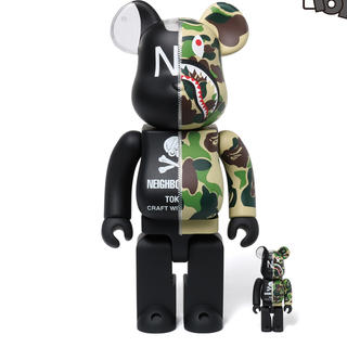 A BATHING APE - A BATHING APE x NEIGHBORHOOD