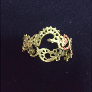 カオル(KAORU)の 美品KAORU スワトウリング k18 14号(リング(指輪))
