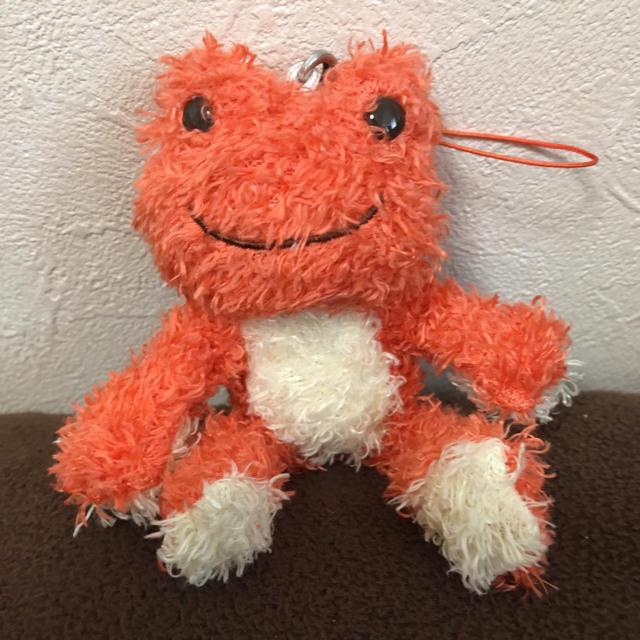 かえるのピクルス マスコット エンタメ/ホビーのおもちゃ/ぬいぐるみ(ぬいぐるみ)の商品写真