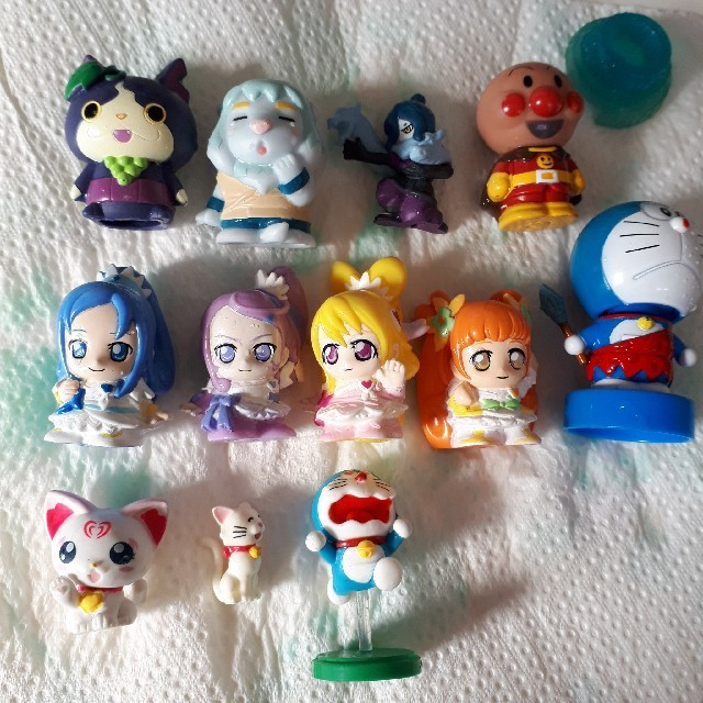 置物指人形もあり エンタメ/ホビーのおもちゃ/ぬいぐるみ(キャラクターグッズ)の商品写真