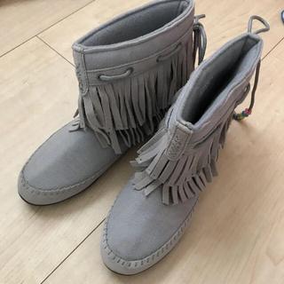 アディダス(adidas)のアディダス フリンジ ブーツ(ブーツ)