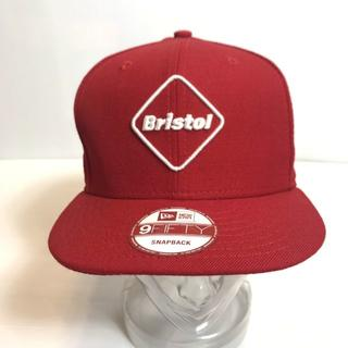 エフシーアールビー(F.C.R.B.)の希少◆正規品◆エフシーアールビー ブリストル ニューエラ キャップ 帽子 赤(キャップ)