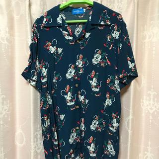 ディズニー(Disney)のディズニー♡ミニーアロハシャツ(シャツ/ブラウス(半袖/袖なし))