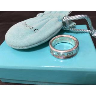 ティファニー(Tiffany & Co.)のTiffany ティファニーシルバーリング 8号(リング(指輪))