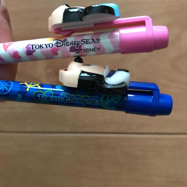 Disney(ディズニー)のディズニーシー☆ボールペン ミッキー&ミニー2本セット エンタメ/ホビーのおもちゃ/ぬいぐるみ(キャラクターグッズ)の商品写真