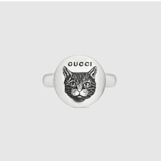 グッチ(Gucci)のGUCCI Blind for Love シルバー リング 正規品 未使用に近い(リング(指輪))