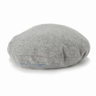 ジャーナルスタンダード(JOURNAL STANDARD)のRESTIR購入 WALK OF SHAMEベレー帽グレー 送料込み(ハンチング/ベレー帽)