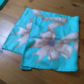 ティファニー(Tiffany & Co.)のティファニー スカーフ 新品 16500円→14000円(バンダナ/スカーフ)