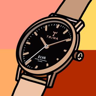 トリワ(TRIWA)の【完売品】TRIWA ELVA ROSE ROSE MESH(腕時計)